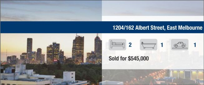 1204V/162 Albert Street, East Melbourne - SOLD